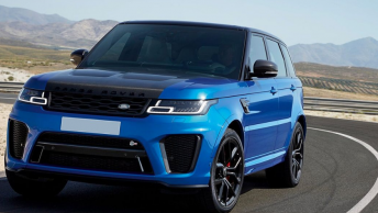 range rover svr location
